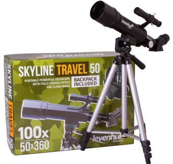 Телескоп Levenhuk Skyline Travel 50